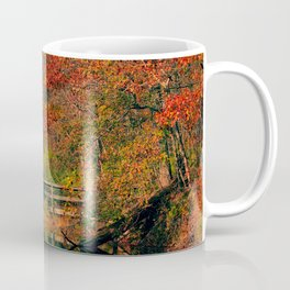Fall At Oak Creek Pond Coffee Mug