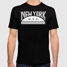 NYC Black MEDIUM Mens Fitted Tee