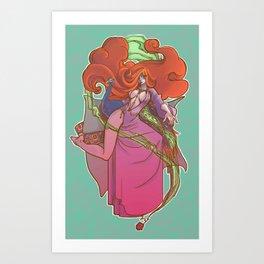 Circes the enchantress Art Print