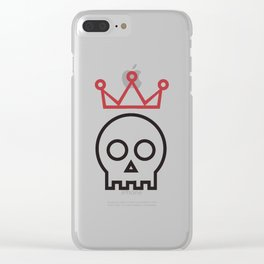 Hamlet. To be or not to be Clear iPhone Case