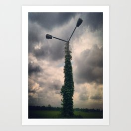 Light Post Art Print