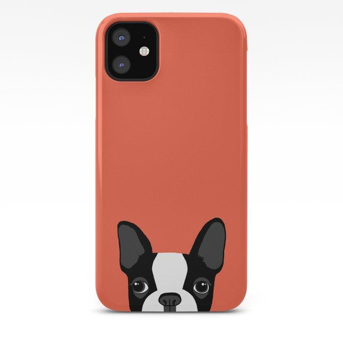 Boston Terrier iPhone 11 case