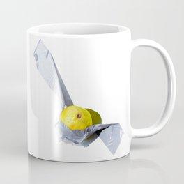 Lemon Duct-taped Coffee Mug