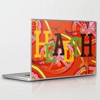 health Laptop & iPad Skins featuring Health by Sartoris ART