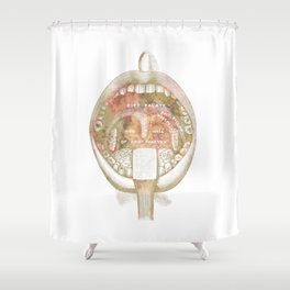 The receiving Room Shower Curtain