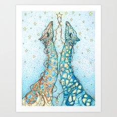 Soulmates Art Print