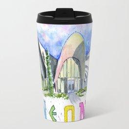 Neon Boneyard Las Vegas Travel Mug