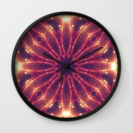 Light Mandala Wall Clock