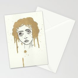 Natural Gold Stationery Cards