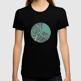 BostonCity Map T-shirt