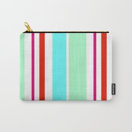 Stripes in colour 2 Carry-All Pouch