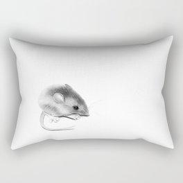 Itty Bitty Mouse Rectangular Pillow