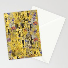Gold Explosion Stationery Cards
