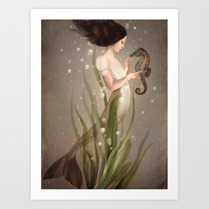Discover the motif IN THE SEA by Christian Schloe as a print at TOPPOSTER