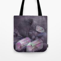 garden Tote Bags featuring Garden by Martynas Pavilonis