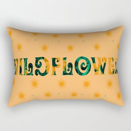 Tom Petty Wildflower Rectangular Pillow