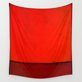 Red #1 Wall Tapestry