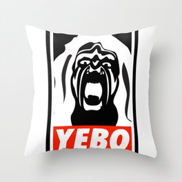 YEBO-UWS Throw Pillow