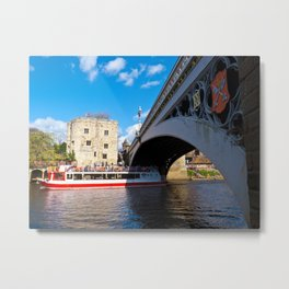 Lendal tower and bridge York Metal Print