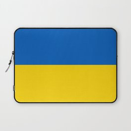 National flag of Ukraine, Authentic version (to scale and color) Laptop Sleeve