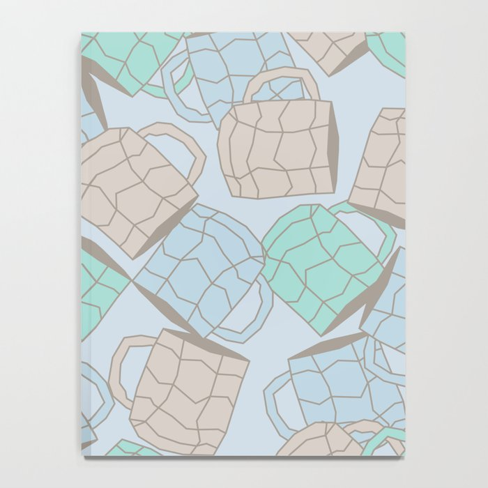 Mugs pattern Notebook