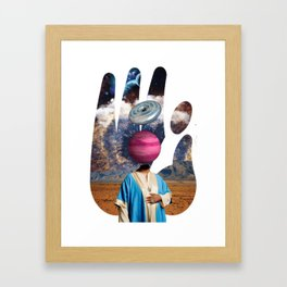 Sadahtay_Humble Framed Art Print