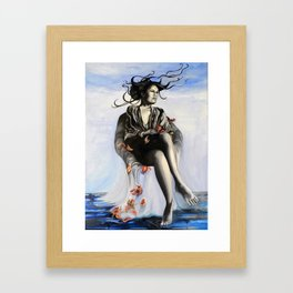 Waiting for you to find me Framed Art Print