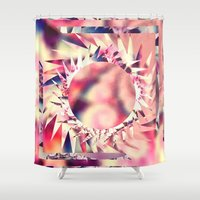 trippy Shower Curtains featuring Trippy  by Pink Berry Patterns