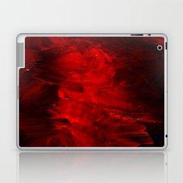 Red Abstract Paint | Corbin Henry Artist Laptop & iPad Skin