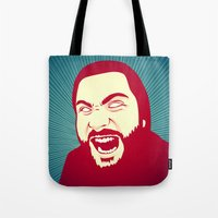 scream Tote Bags featuring Scream by FalcaoLucas