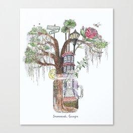 Sweet Savannah Canvas Print