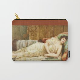 Vintage Sleeping Beauty Carry-All Pouch