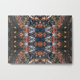 Autumnal mosaic Metal Print