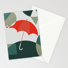 The Umbrella Stationery Cards