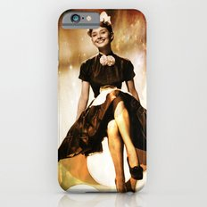 Audrey Hepbur vintage photo Slim Case iPhone 6s