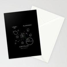 Retro Star Wars Arcade Alderaan Asteroids Stationery Cards