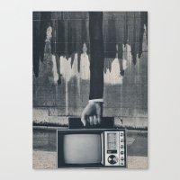 revolution Canvas Prints featuring revolution by Tonya Enger