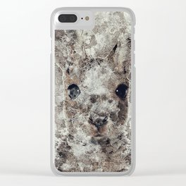 The Rabbit Clear iPhone Case