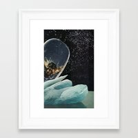 bee Framed Art Prints featuring bee by Hugo Barros