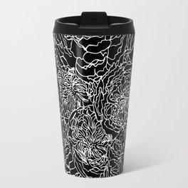 SPRING IN WHITE AND BLACK Travel Mug