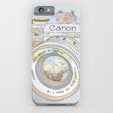 TRAVEL CAN0N iPhone 6s Slim Case