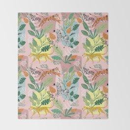 Jungle Fun Throw Blanket