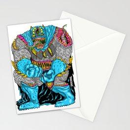 DARK MONSTER Stationery Cards