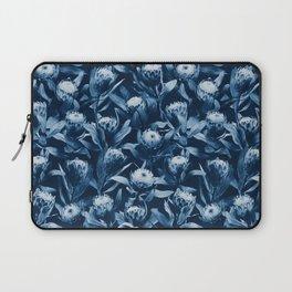 Evening Proteas - Denim Blue Laptop Sleeve