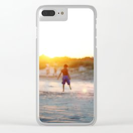 """Beach Play, Tybee Island, Georgia"" by Simple Stylings Clear iPhone Case"