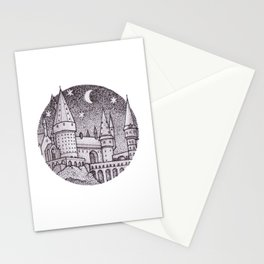 School of Witchcraft and Wizardry Stationery Cards