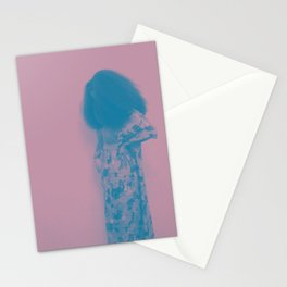 Afro Retro Moments Mauve & Teal Stationery Cards