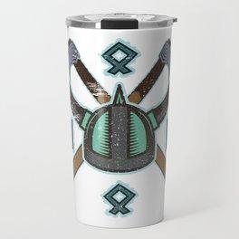 Viking Runes Travel Mug
