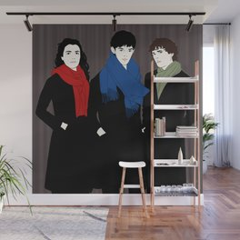 The Witch, the Wizard, and the Warlock Wall Mural