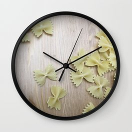 Farfalle Wall Clock